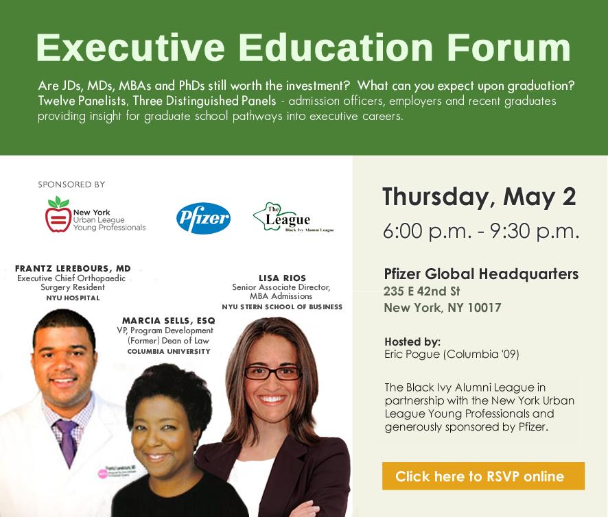 Executive Education Forum   The Black Ivy Alumni League